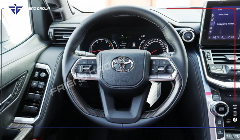 Toyota Land Cruiser 2022 VX Twin Turbo – Rental full